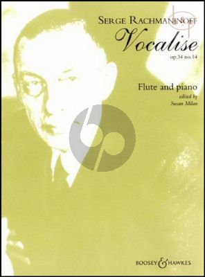 Vocalise Op.34 Nr.14 Flute-Piano