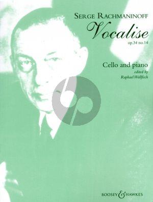 Rachmaninoff Vocalise Op.34 No.14 Violoncello-Piano (Edited by Raphael Wallfisch)