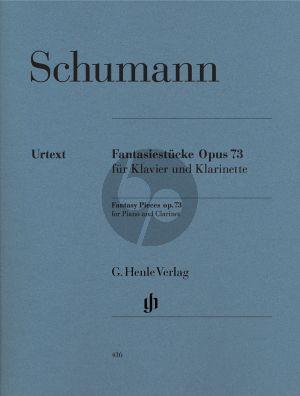 SChumann Fantasiestucke Op.73 (Henle-Urtext) (mit Klarinette Stimme in A und Bb)