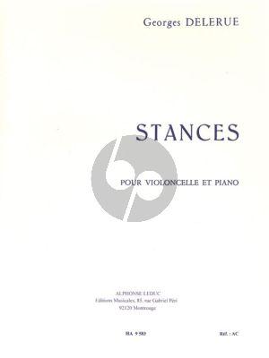 Delerue Stances pour Violoncelle et Piano