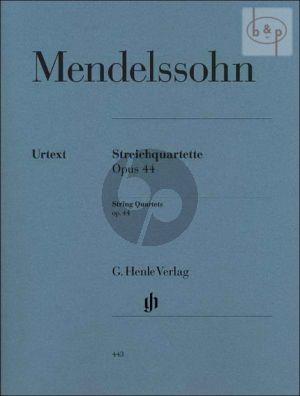 Streichquartette Op.44 No.1 - 3 (Stimmen)
