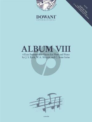 Dowani Album Vol. 8 Flute and Piano Book-CD and Audio online) (Easy/Intermediate) (Dowani 3 Tempi Play-Along)
