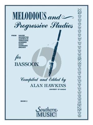 Hawkins Melodious & Progressive Studies Vol. 2 for Bassoon (Grade 3 - 5)