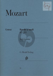 Rondo a-moll KV 511 Klavier (edited Ulrich Scheideler)