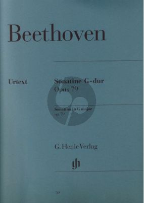 Beethoven Sonatine G-dur Op.79 (edited by B.A.Wallner)