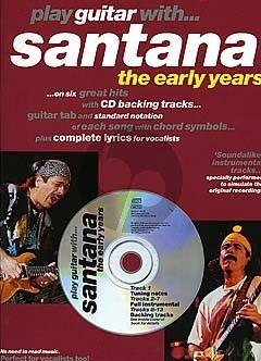 Play Guitar with Santana - The Early Years (Bk-Cd)
