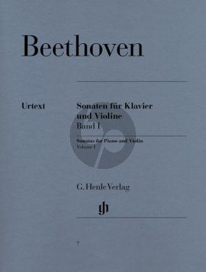 Beethoven Sonaten Vol. 1 Violine und Klavier (edited by Sieghard Brandenburg -Fingersatz von Hans-Martin Theopold und Violinestimme von Max Rostal.) (Henle-Urtext)