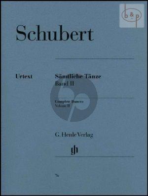 Schubert Samtliche Tanze Vol.2 fur Klavier (Paul Mies (Herausgeber) Hans-Martin Theopold (Fingersatz)) (Henle-Urtext)