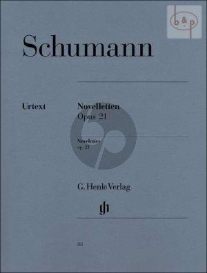 Schumann Noveletten Op.21 Klavier (Ernst Herttrich)