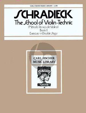 Schradieck School of Violin Technik Vol.2 (Exercises in Double Stops)