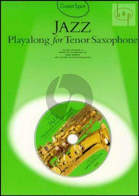 Guest Spot Jazz Playalong Tenor Saxophone