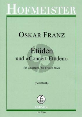 Franz Etuden-Konzert Etuden für Horn (Günther Schaffrath)