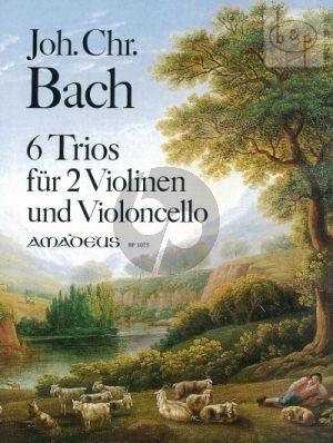 Bach 6 Trios 2 Violinen-Violoncello) (Parts) (edited by Bernhard Pauler)