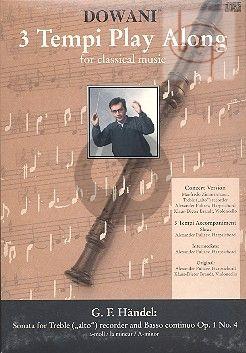 Sonata a-minor Op.1 No.4 (Solo Part-CD)