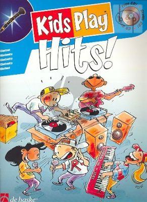 Kids Play Hits (Alto Sax.) (Bk-Cd)