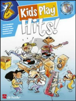 Kids Play Hits (Sopr./Tenor Sax.) (Bk-Cd)