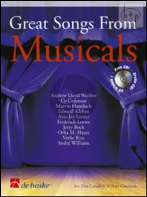 Great Songs from Musicals (Trombone[Euph.]) (TC/BC) (Bk-Cd)