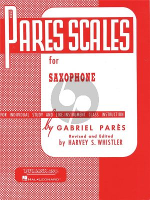 Scales for Saxophone