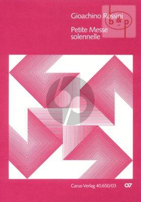 Petite Messe Solennelle Soli-Choir- 2 Piano's and Harmonium (Vocal Score)