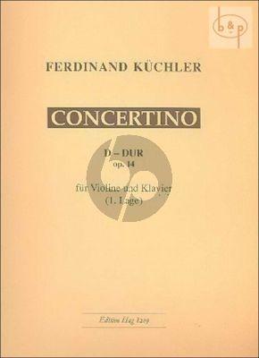 Concertino Op.14 Violine-Klavier