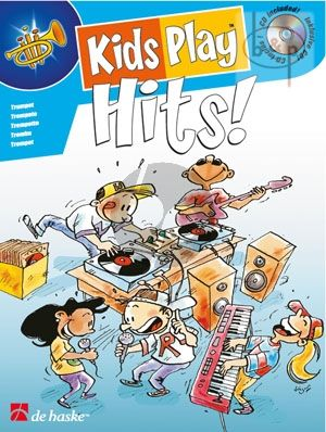 Kids Play Hits (Trumpet) (Bk-Cd)