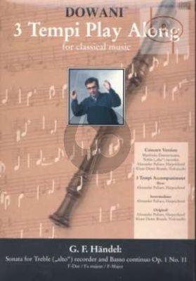 Sonata F-major Op.1 No.11 (Solo Part-CD)
