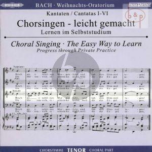 Weihnachts Oratorium BWV 248 Tenor Chorstimme