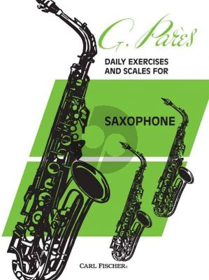 Daily Exercises & Scales for Saxophone