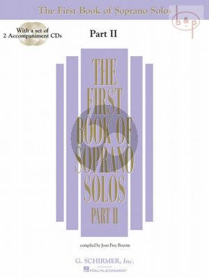 First Book of Soprano Solos vol.2 (Voice-Piano)