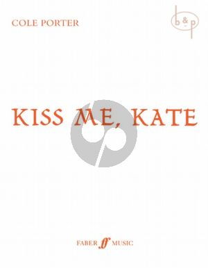 Kiss Me Kate Vocal Score