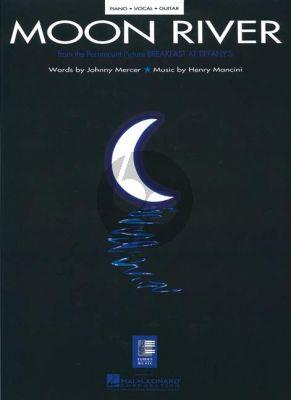 Mancini Moon River (Breakfast at Tiffany's) Piano-Vocal-Guitar