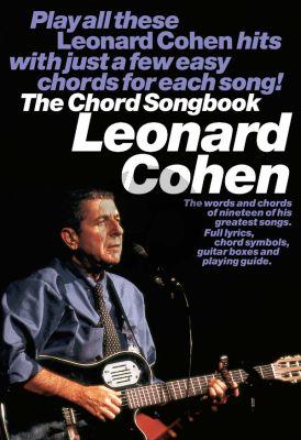 Leonard Cohen Chord Songbook (Lyrics-Chords)