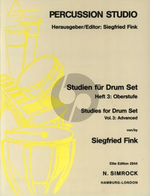 Fink Studies for Drum Set Vol. 3 (advanced grade)
