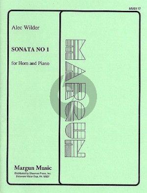 Wilder Sonata No. 1 Horn and Piano
