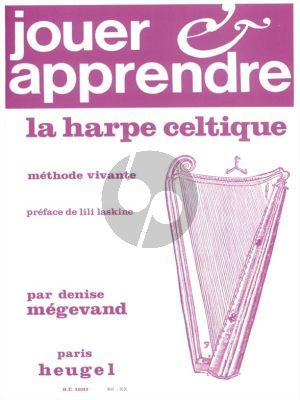 Megevand Jouer et Apprendre la Harpe Celtique