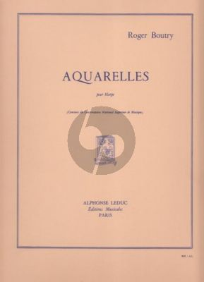 Boutry Aquarelles Harp