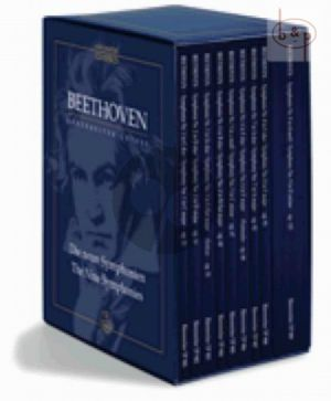 Beethoven Symphonies - Complete Boxed Set (Study Score) (edited by Jonathan Del Mar) (Barenreiter-Urtext)