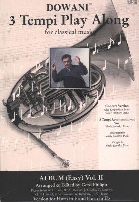 Dowani Album Vol.2 Horn (F/Eb) Solo Part Bk-Cd (Dowani) (Gerd Philipp)