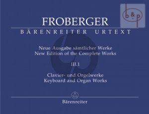 Samtliche Clavier-Clavierwerke Vol.3 Teil 1 (Neue Ausgabe samtlicher Werke)