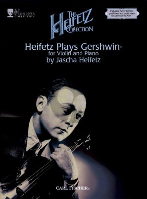 Heifetz plays Gershwin Violin and Piano