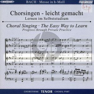 Messe h-moll (Hohe Messe) BWV 232 Tenor Chorstimme