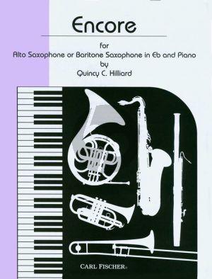 Hilliard Encore for Alto or Baritone Saxophone and Piano
