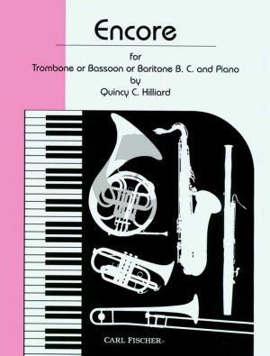 Hilliard Encore for Trombone or Bassoon and Piano