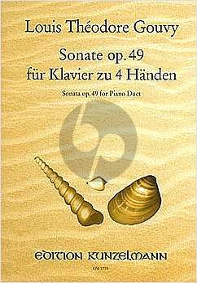 Gouvy Sonate Op.49 Klavier 4 Hd. (Groethuysen)