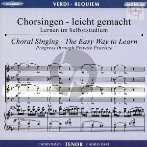 Requiem (Tenor Chorstimme) (2 CD's)