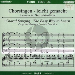 Requiem (Bass Chorstimme) (2 CD's)