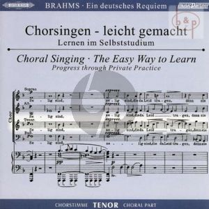 Ein Deutsches Requiem Op.45 Tenor Chorstimme