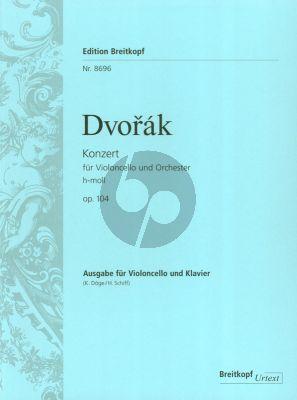 Dvorak Konzert h-moll Op.104 Violoncello und Orchester (Klavierauszug) (Klaus Doge - Heinrich Schiff)