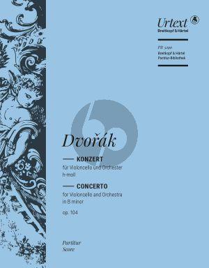 Dvcorak Konzert h-moll Op.104 Violoncello und Orchester (Partitur) (Klaus Doge)