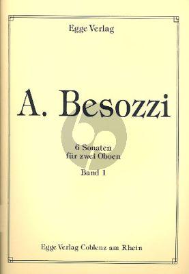 Besozzi 6 Sonaten Vol.1 2 Oboen